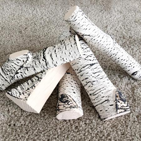 Biokamino accessori ceppi ceramici